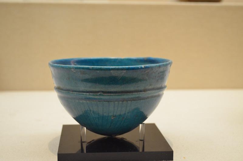 青釉条線文鉢 (イラン 1-3世紀)