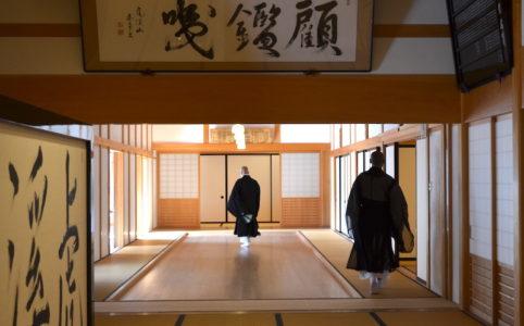 永保寺 雪安居の開講式 2017