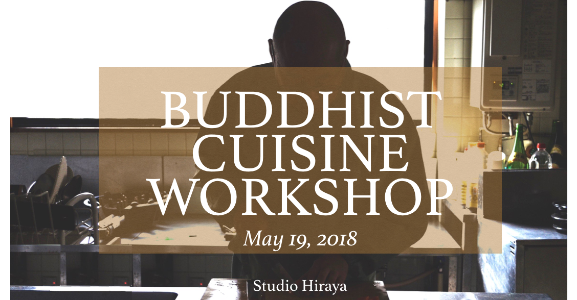 Buddhist cuisine workshop in Tajimi