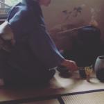 武家の茶道、有楽流を習う