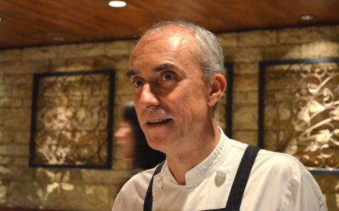 ホセ・バラオナ・ビニェス シェフの料理
