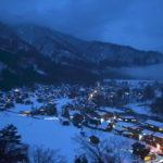 冬の白川郷と高山市内