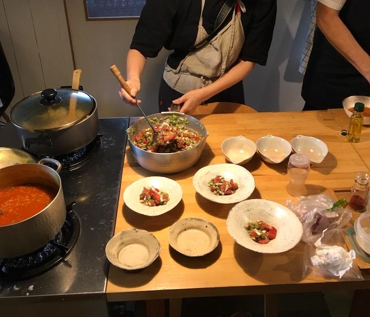 Studio Hiraya主催イベント ギャラリー陶林春窯でペルシャ料理教室