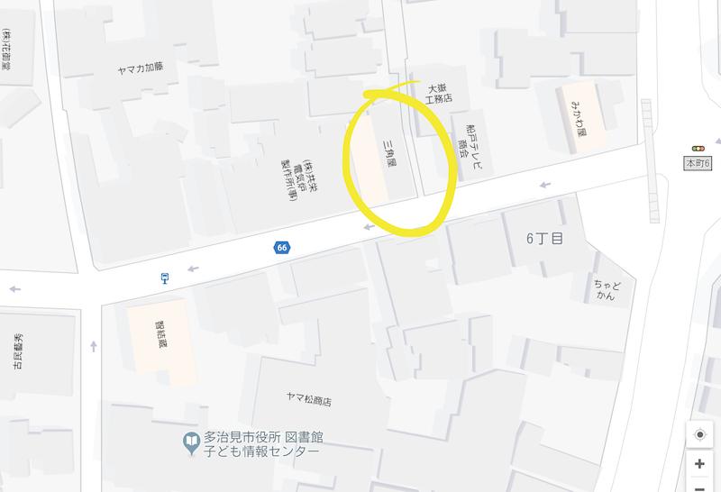 2018年12月 オリベストリート地図
