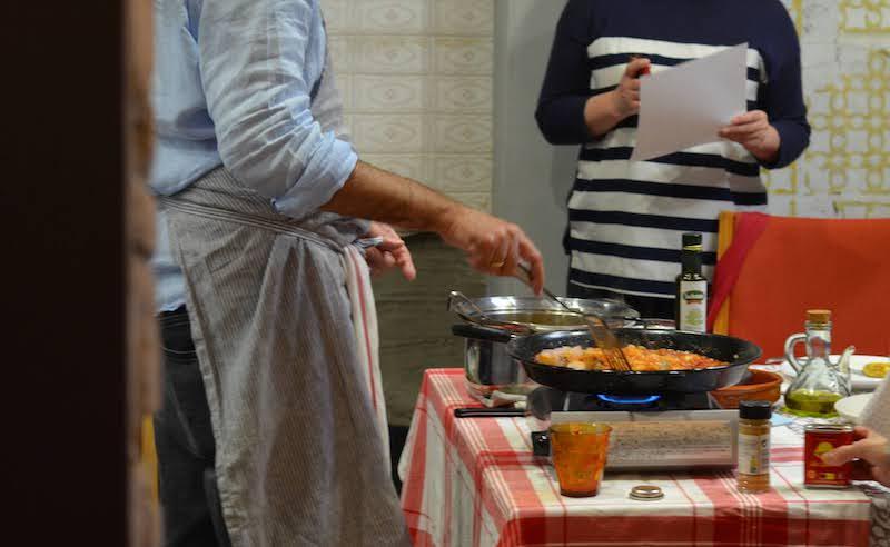 Spanish kitchen スペインの台所 スペイン家庭料理教室